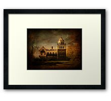 Evening at Forstmann Castle Framed Print