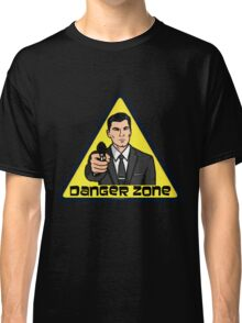 Danger Zone - Archer Classic T-Shirt
