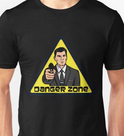 Danger Zone - Archer Unisex T-Shirt