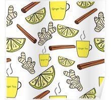 Ginger tea Poster