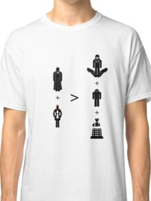 Doctor Who Maths - Season 4, Donna Classic T-Shirt