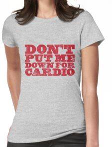 Cardio Womens Fitted T-Shirt