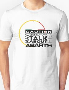 May constantly talk about his abarth T-Shirt