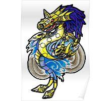 Digimon - Metalseadramon Poster