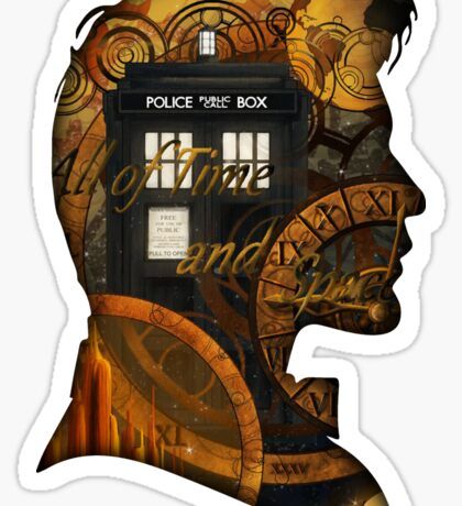 Doctor Who - TimeSpace & Smith Sticker