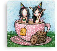 Fairy Tea Party Canvas Print