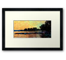 Boats in Rovinj Framed Print