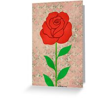 THE BEAUTY OF THE ROSE Greeting Card