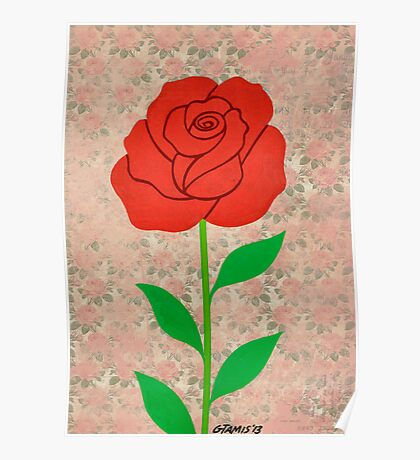 THE BEAUTY OF THE ROSE Poster