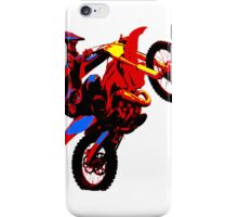 Motorbike stunt iPhone Case/Skin