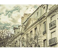 Neoclassical Style Buildings in Buenos Aires, Argentina Photographic Print