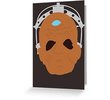 Davros - Doctor Who Greeting Card