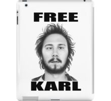 workaholics free karl show shirt iPad Case/Skin