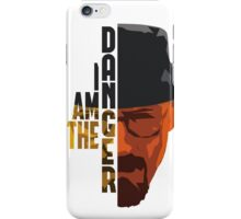 I am the DANGER - Yellow/Orange iPhone Case/Skin