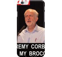 Jeremy Corbyn ate my broccoli iPhone Case/Skin