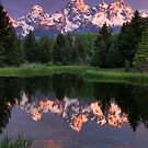 Early Light on the Tetons by Ryan Wright