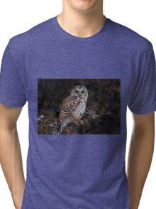 Barred Owl - Kanata Tri-blend T-Shirt