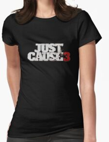 J. Cause 3 Womens Fitted T-Shirt
