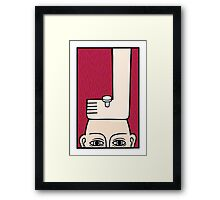 Off the top of my head Framed Print