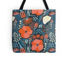 Summer field colorful pattern Tote Bag