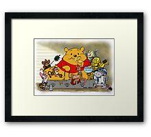 Winnie the Hutt Framed Print