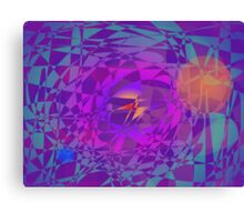 A Bird Flying from the Earth to the Sun Canvas Print