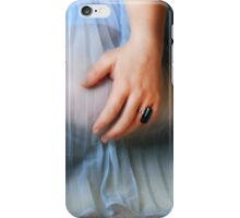 The Blue Gown iPhone Case/Skin
