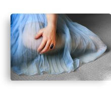 The Blue Gown Metal Print