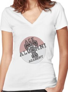 Ace Trainer Alumni Women's Fitted V-Neck T-Shirt
