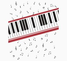 Piano Keyboard Beat It by KDGrafx