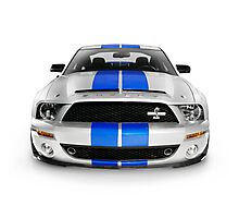2008 Shelby Ford GT500KR sports car art photo print Photographic Print
