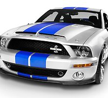 Shelby Ford GT500KR sports car art photo print by ArtNudePhotos
