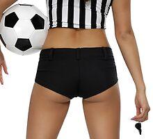 Sexy Soccer Referee Butt art photo print by ArtNudePhotos