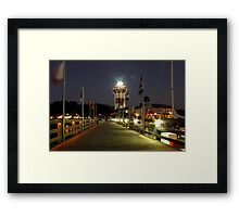 Harbour Town Lighthouse, Hilton Head Framed Print