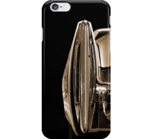 Rear (sepia) iPhone Case/Skin