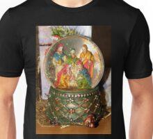 Nativity Snow Globe Unisex T-Shirt