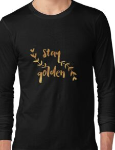 Stay Golden Long Sleeve T-Shirt