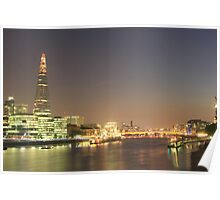 The Shard From London Bridge Poster