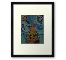 Seeking the Truth in all the Left Places Framed Print