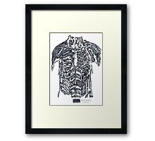 LINE : The Contrainer Framed Print
