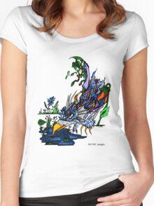 MechaniBird! Women's Fitted Scoop T-Shirt