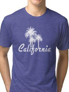 California Palm Trees Tri-blend T-Shirt