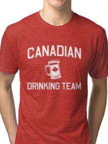Canadian Drinking Team Tri-blend T-Shirt