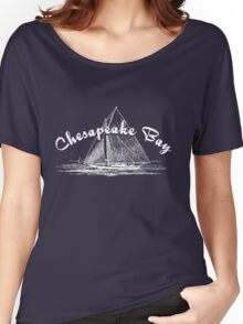 Chesapeake Bay Sailboat Women's Relaxed Fit T-Shirt