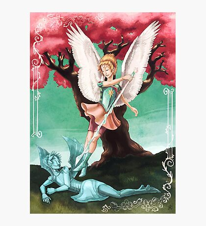 Pearl the Archangel Photographic Print