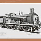 0-6-0 Class C SECR locomotive by Radwulf