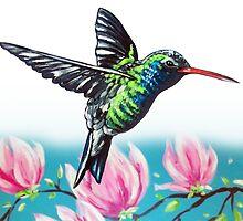 Hummingbird by Ira Mitchell-Kirk