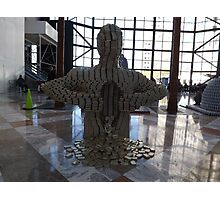 "Canstruction, ""Pour Your Heart Out"" Sculpture Made of Food Cans, World Financial Center, New York City Photographic Print"