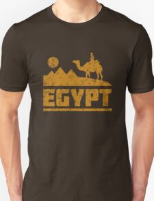 Egypt Pyramids and Camel T-Shirt