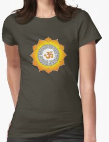 Aum 1 Womens Fitted T-Shirt
